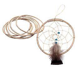 Wood Hoop Dream Catcher Kits Noc Bay Trading Company